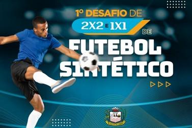 Inscrições para desafio de Futebol Sintético terminam nesta quarta-feira (24)
