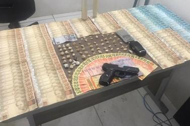 Operação apreende mais de 10 mil reais no Rio Verde e conduz seis suspeitos