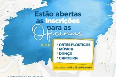 Prefeitura de Lucas do Rio Verde abre inscrições para oficinas culturais