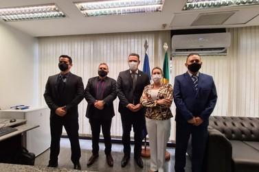 Vereadores de Lucas se reúnem com Senador em Brasília para solicitar melhorias