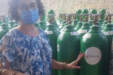 Energisa doa 100 cilindros de oxigênio ao estado de Mato Grosso