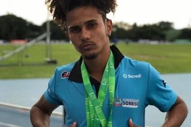 Atleta de Sorriso compete em evento da Confederação Brasileira de Atletismo