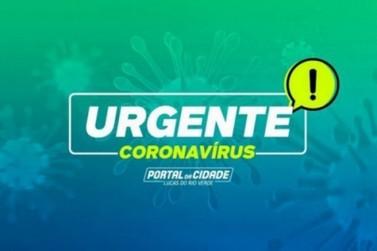 COVID- Lucas do Rio Verde registra mais 2 óbitos; mulheres com 43 e 52 anos