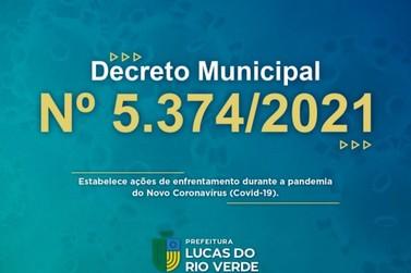 Prefeitura de Lucas do Rio Verde mantém medidas decretadas até 15 de abril