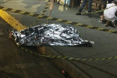 Tiroteio no centro de Lucas do Rio Verde deixa um morto  e dois feridos