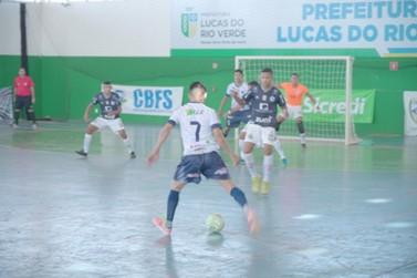 Copa do Brasil de Futsal é realizada em Lucas do Rio Verde