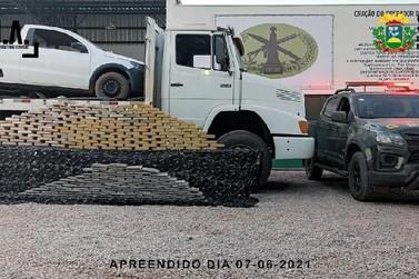 Gefron apreende mais de 200 kg de entorpecentes vindos da Bolívia