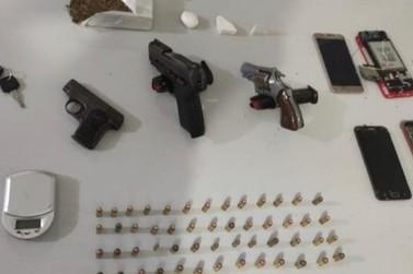 Ação Integrada entre PJC e PM prende suspeito de chefiar tráfico de drogas