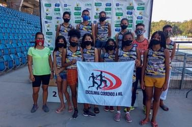 Jovens luverdenses são destaques em competição estadual de atletismo