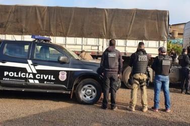 """Polícia Civil prende último integrante da quadrilha 'Piratas da Soja"""""""