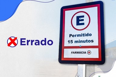 Secretaria de Segurança e Trânsito retira placas irregulares na Av. Mato Grosso