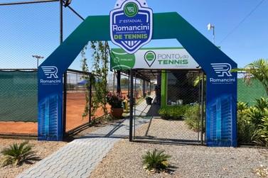 2º Estadual Romancini de Tennis começa nesta quarta (11) em Lucas do Rio Verde