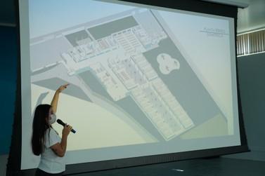 Com arquitetura diferenciada, Projeto de nova escola municipal é apresentado