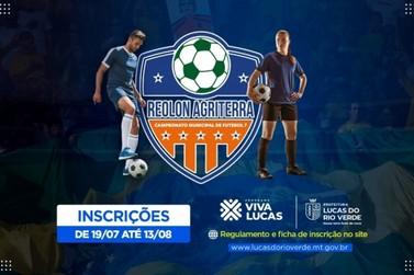 Inscrições para campeonato de futebol 7 terminam na próxima sexta-feira (13)