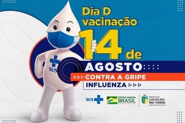 """Dia """"D"""" da vacinação contra Gripe (Influenza) acontece neste sábado (14)"""