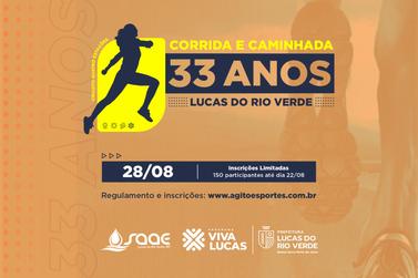 Secretaria de Esporte e Lazer abre inscrição para corrida de rua
