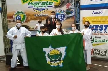Equipe de karatê de Lucas do Rio Verde conquista 2ª colocação em etapa Nacional