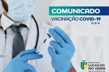 Jovens de 18 anos são convocados para vacinação em Lucas do Rio Verde