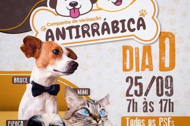"""Lucas do Rio Verde: Dia """"D"""" da vacinação antirrábica será em 25 de setembro"""