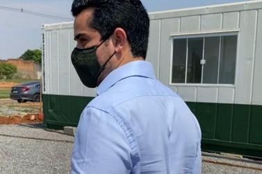 Wlad Mesquita fiscaliza obras do Centro de Castração de cães e gatos; reta final