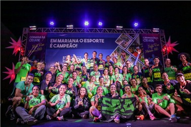 Mais de 350 atletas participaram da Corrida da Cidade de Mariana