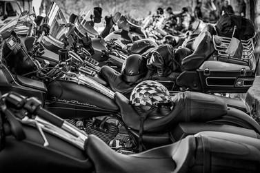 Mariana se prepara para 11º Encontro de Motociclistas