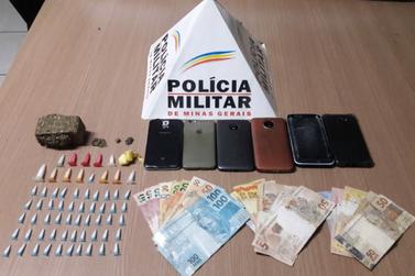 Polícia Militar apreende materiais em ponto de venda de drogas do bairro Rosário