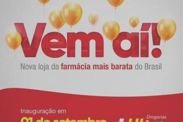 Drogarias Ultra Popular inaugura mais uma unidade em Mariana