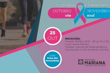 Inscrições abertas para a 2ª Corrida e Caminhada Outubro Rosa – Novembro Azul