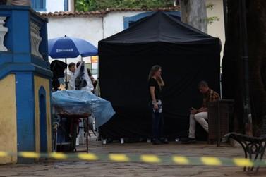 Jardim está interditado mais uma vez para gravação da novela Globo
