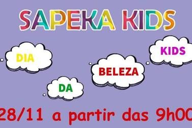 Loja Sapeka Kids promove amanhã o grande Dia da Beleza Kids