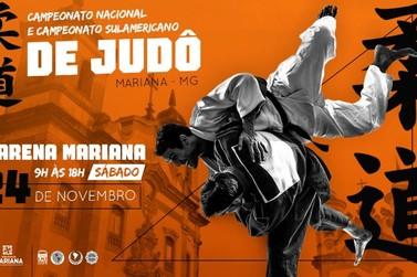 Mariana receberá neste final de semana dois grandes campeonatos de judô