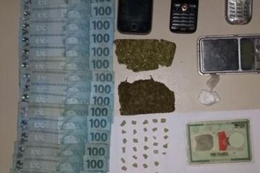 Idoso é preso e PM faz apreensões por drogas na Região dos Inconfidentes