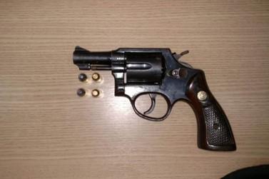 Polícia Militar apreende arma de fogo em Furquim