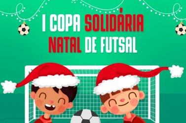Programação do Natal de Luz traz 1ª Copa Solidária Natal de Futsal