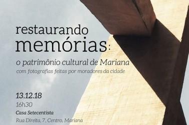 Mariana recebe reconhecimento da UNESCO e comemora com exposição