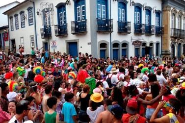 Horários dos blocos de rua do Carnaval Mariana 2019 estão previamente definidos