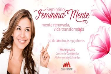 Seminário FemininaMente vem para incentivar mulheres inspiradoras