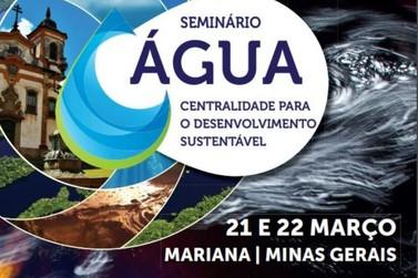 1° Seminário da Água acontece em Mariana, a partir de amanhã