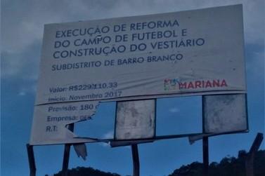 Moradores de Barro Branco reclamam de obra atrasada