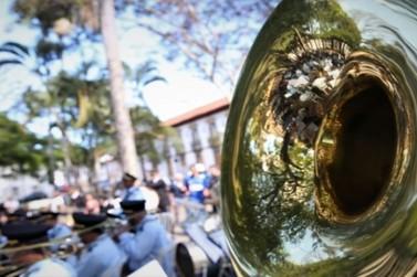 Projeto Banda na Praça recebe a Sociedade Musical São Vicente de Paulo