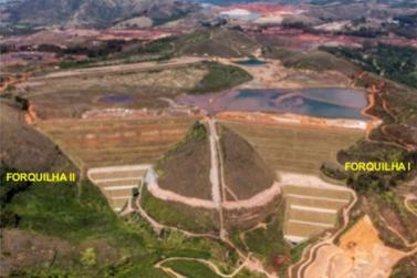 Sirene é acionada nas barragens Forquilha I e III em Ouro Preto
