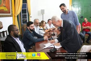 Projeto de lei prevê nova sede para o Fórum Municipal