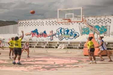 Torneio de basquete 3x3 agita fim de semana marianense