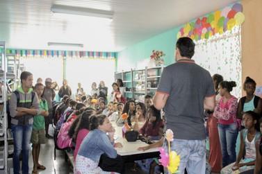 Após reforma, biblioteca da Escola Municipal Wilson Pimenta é reinaugurada