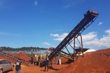 Empresário é preso por extração ilegal de minério em Mariana