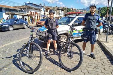 Guarda Municipal faz patrulhamento com bicicletas