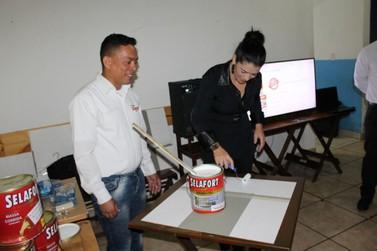 Nacional Tintas promoveu encontro entre profissonais da área de pintura