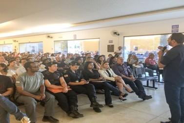 Servidores públicos municipais são apresentados aos PCVVs