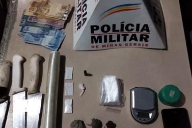 Suspeito por tráfico de drogas é preso na madrugada deste domingo em Mariana